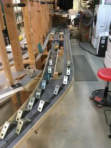 Lower track laid