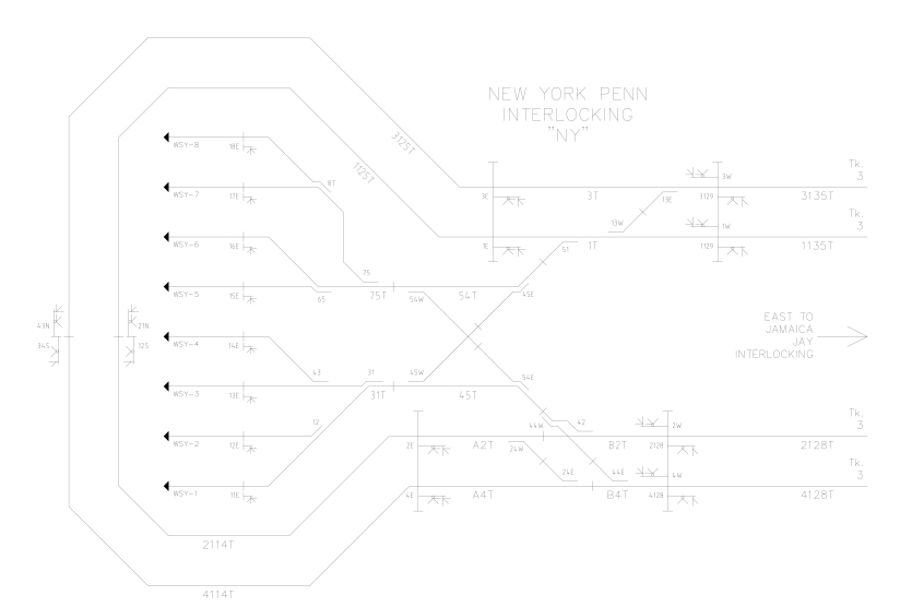 NY Single Line Plan